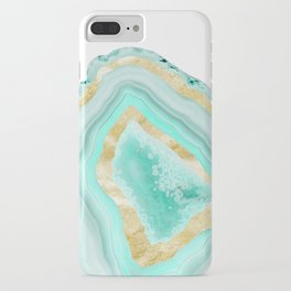 Agate Gold Foil Glam #2 #gem #decor #art #society6 iPhone Case