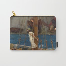 Ulysses and the Sirens - John William Waterhouse Carry-All Pouch