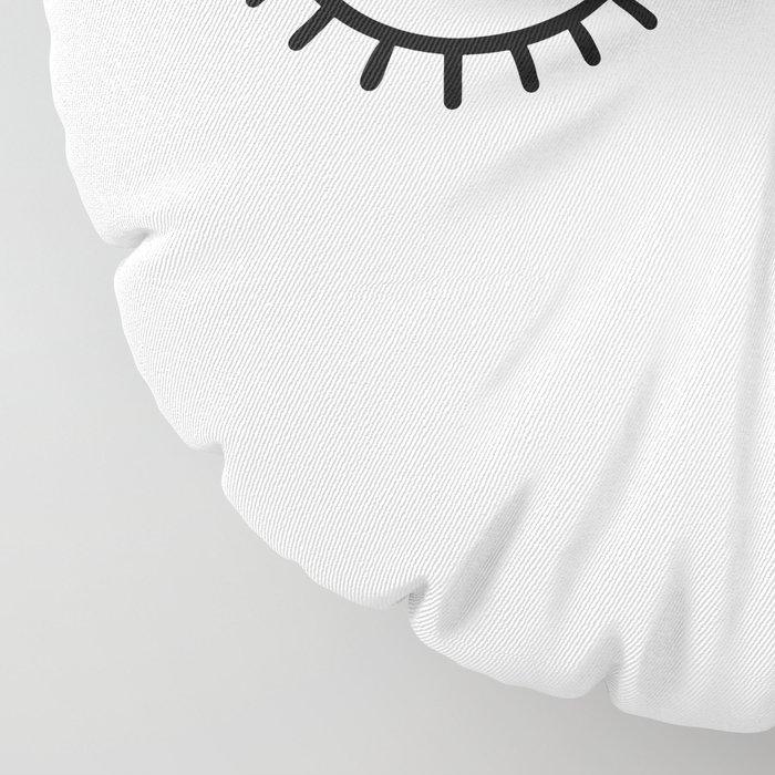 Eye wink Floor Pillow