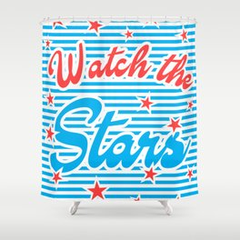 Watch the Stars, Shower Curtain