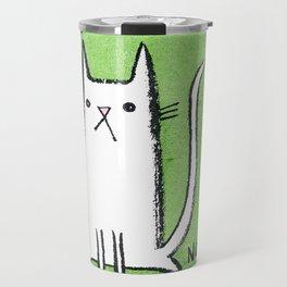 Nope Kitty Travel Mug