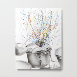 The Drum Solo Metal Print