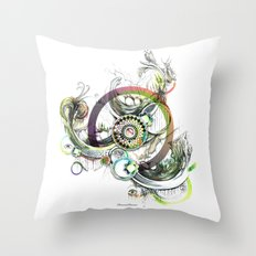 a good place for sincere thought Throw Pillow