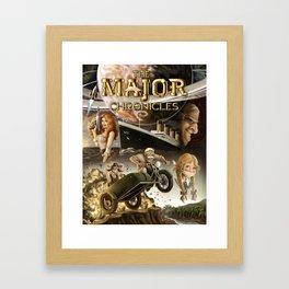 The Major Chronicles Vol. I Book Cover Framed Art Print