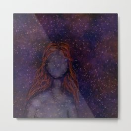 Cosmic Girl Metal Print