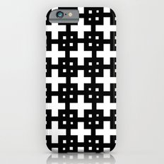Telder Black & White iPhone 6s Slim Case