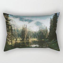 Quiet Washington Morning Rectangular Pillow