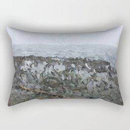 Beach at Clover Point No. 1 Rectangular Pillow