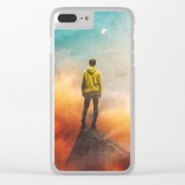So Far From Me Clear iPhone Case