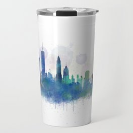 NY New York City Skyline Travel Mug