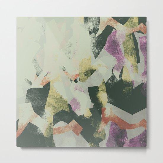Camouflage III Metal Print