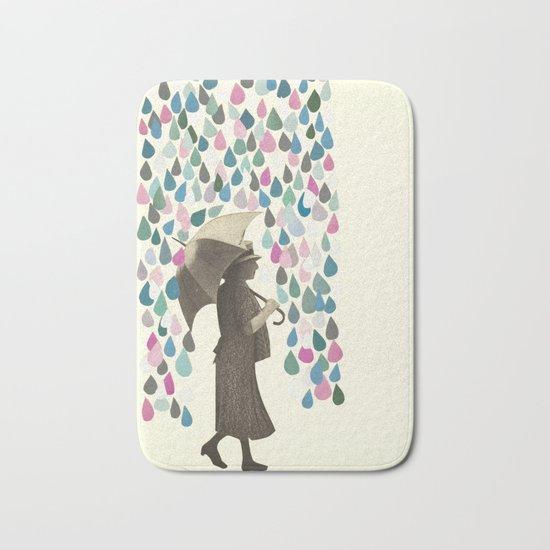 Rain Dance Bath Mat