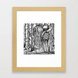 John Bauer Trollörten Framed Art Print