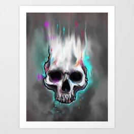 beautiful death Art Print