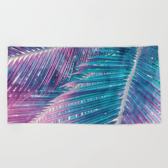 Palm #1 Beach Towel