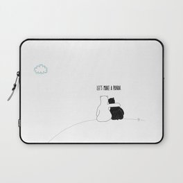 Let's Make a Panda Laptop Sleeve