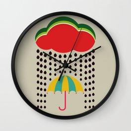 Refreshing watermelon Wall Clock