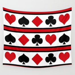 Four card suits Wall Tapestry