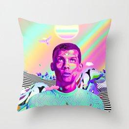 Stromae Artwork Throw Pillow
