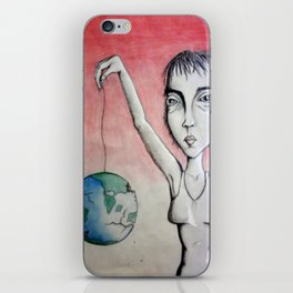 Slipping Away iPhone Skin