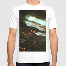 Outerspace Mens Fitted Tee White MEDIUM