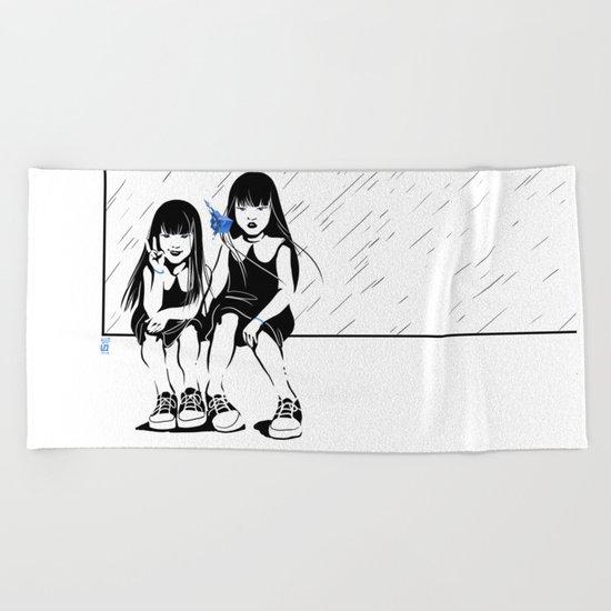 Anomalia Twins Beach Towel