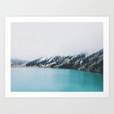 Turquoise water Art Print