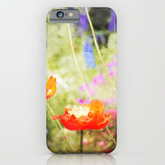 Magic Poppies iPhone & iPod Case