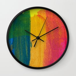Abstract No. 390 Wall Clock