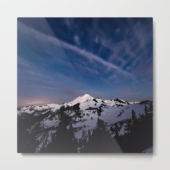 Mount Baker - Nature Photography Metal Print