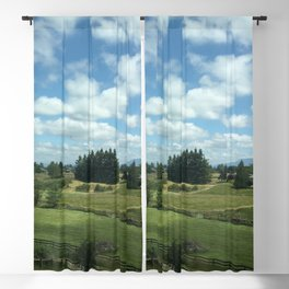 Cotton Ball Clouds Blackout Curtain