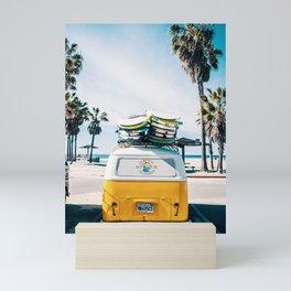 Surf van Mini Art Print