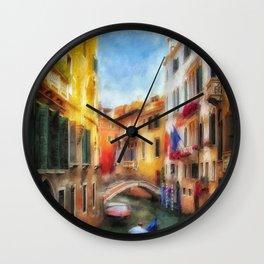 Ahh Venezia Wall Clock