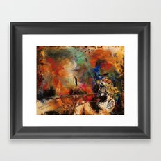Untamed Passion Framed Art Print
