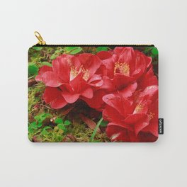 Fallen camellias Carry-All Pouch