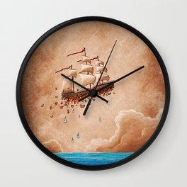 Fantastic Voyage - Flying Ship Wall Clock