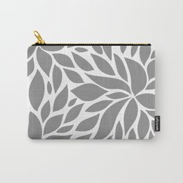 Bloom - Gray Carry-All Pouch
