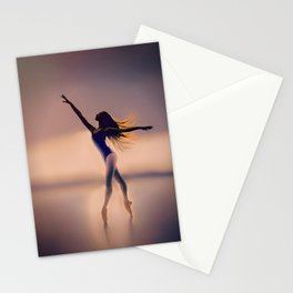 Ballerina: Lines Stationery Cards