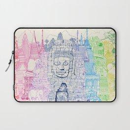 Angkor Wat & Thailand Laptop Sleeve
