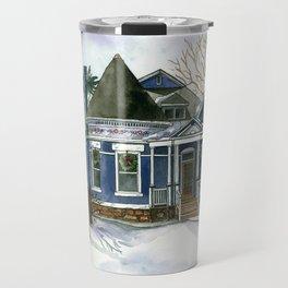 Winter Blues Travel Mug