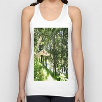 forrest Tank Tops featuring Forrest Feeling by I AmErika