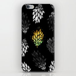 -Only few are gold- on black iPhone Skin