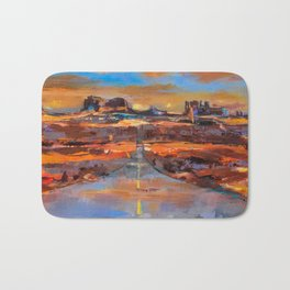 The Land of Rock towers Bath Mat