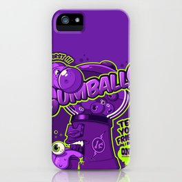 GUMBALLS iPhone Case