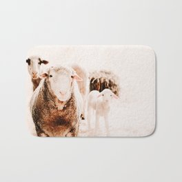 Milly's family portrait Bath Mat