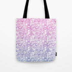 Curly & The Monster Factory Tote Bag