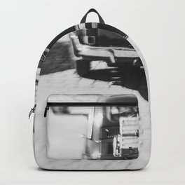 fiat 500 car - his Backpack