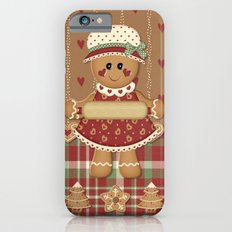 Gingerbread Country Christmas iPhone 6s Slim Case
