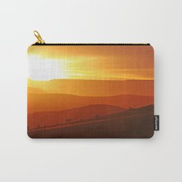 Golden morning in Africa Carry-All Pouch