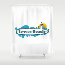 Lewes - Delaware. Shower Curtain